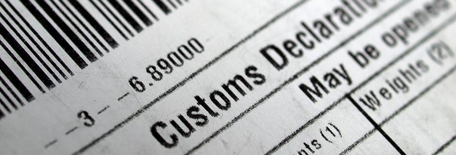 (Nederlands) douane inklaringen en invoerrechten